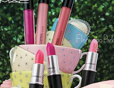 MAC Flamingo Park Lipstick, Lip Pencil, dan Cremesheen Glass