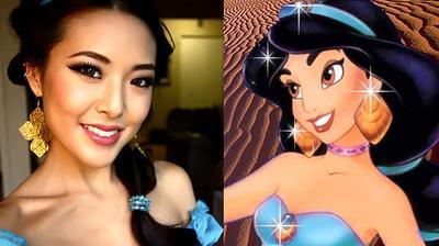 Tutorial Makeup ala Princess Jasmine dari Aladdin
