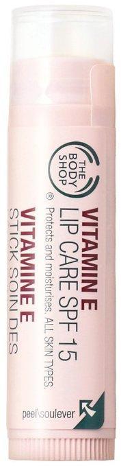 7. The Body Shop Vitamin E Lip Care SPF 15