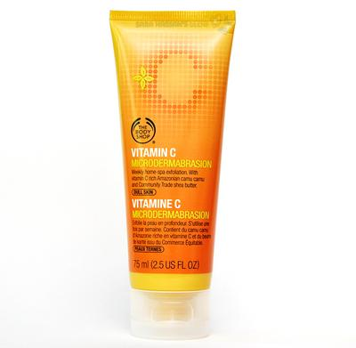 2. The Body Shop Vitamin C Microdermabrasion