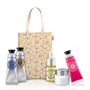 4. L'Occitane Shea Set for Face & Body