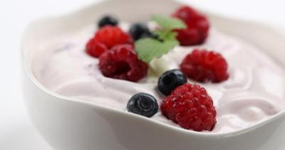 2. Yogurt & Bubuk Cocoa