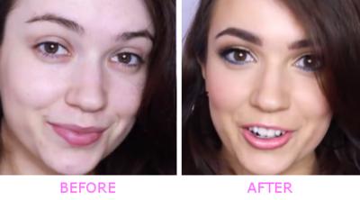 Gaya Makeup Unik ala Demi Lovato Dengan Aksen Warna Biru