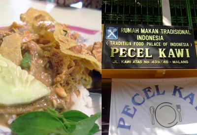 1. Pecel Kawi
