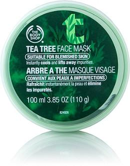 2. Tea Tree Face Mask The Body Shop