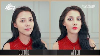 Tampil Seksi Dengan Lipstick Merah Menyala ala HyunA