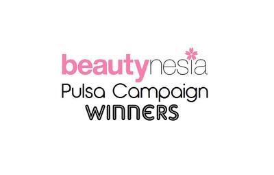 Pemenang Beautynesia Pulsa Campaign