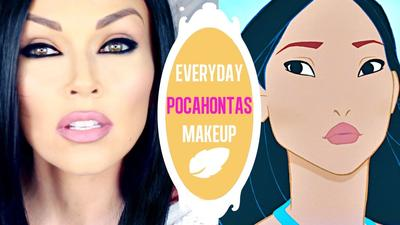 Tutorial Makeup ala Disney Princess Pocahontas