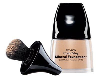 1. Revlon Colorstay Mineral Foundation