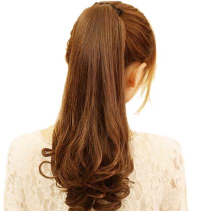 3. Ikat Rambut Dengan Rapi