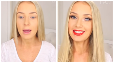 Tutorial Makeup ala Model Rusia  Alena Shishkova