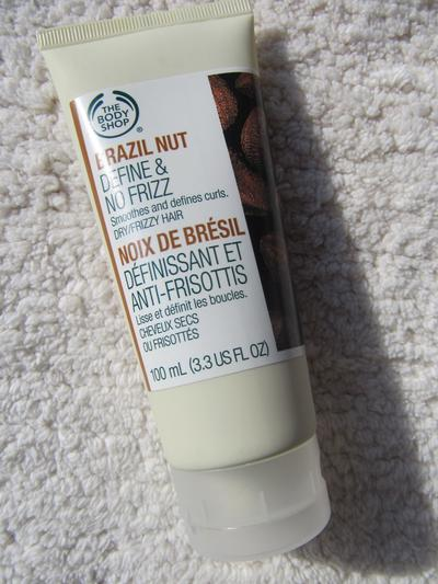 2. The Body Shop Brazil Nut Define & No Frizz