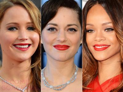 Pertama, Warna Lipstik Merah