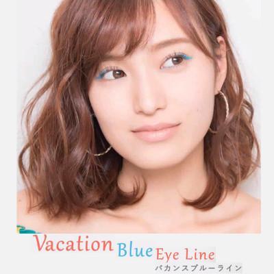 Tampil Fun & Energetic Dengan Blue Eyeliner Makeup
