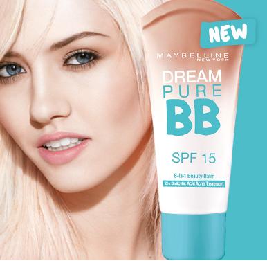 Maybelline Dream Pure BB Cream untuk Kulit Berminyak