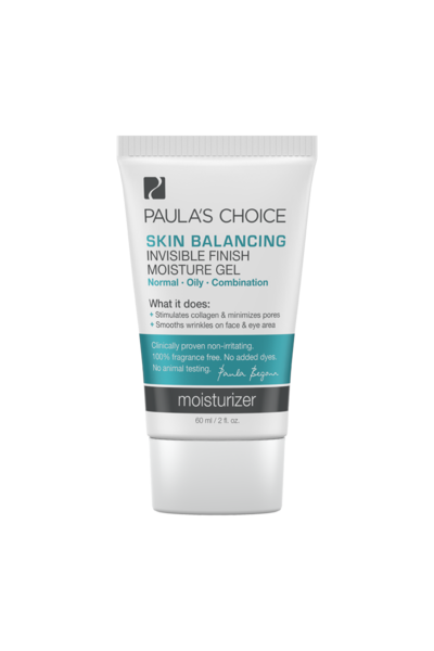 1. Paula's Choice (Skin Balancing Invisible Finish Moisture Gel)