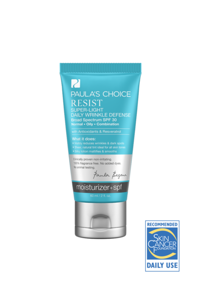 3. Paula's Choice Resist Super-Light Wrinkle Defense SPF 30