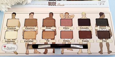 Nude Dude Nude Eyeshadow Palette