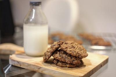 Resep Sehat Raisin Oatmeal Cookies