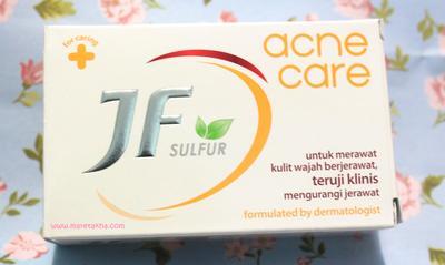 Dear, Ada yang Pakai Sabun JF Sulfur? Terbukti Ampuh Gak Sih Untuk Menghilangkan Jerawat?
