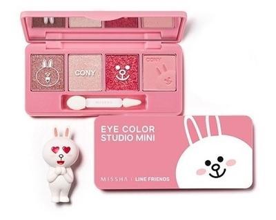 LINE Friends x Missha Eye Color Studio Mini Cony Pink