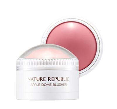 4. Nature Republic Botanical Apple Dome Blusher