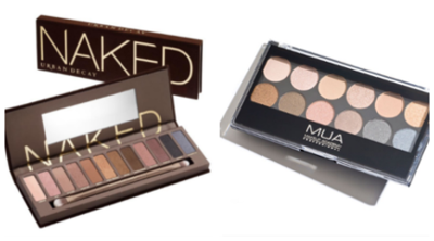 Pilih Mana: Smokey Eyes ala Urban Decay Naked Palette VS MUA Undressed Palette