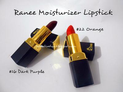 3. Ranee Moisturizer Lipstik