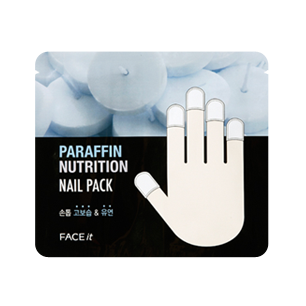 2. The Face Shop Paraffin Nutrition Nail Pack