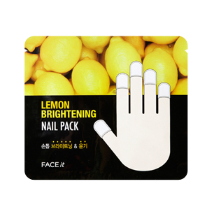 3. The Face Shop Lemon Brightening Nail Pack