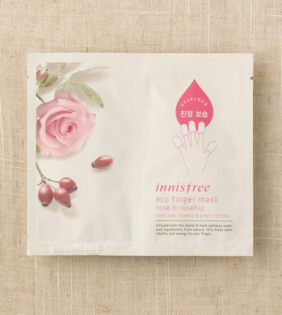 5. Innisfree Eco Finger Mask Rose & Rosehip Oil