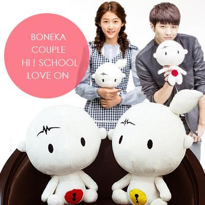 8. Boneka Couple (Hi! School Love On)