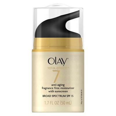 1. Olay Total Effects Anti-Aging UV Moisturizer