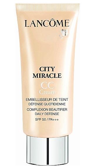 4. Lancome City Miracle CC Cream