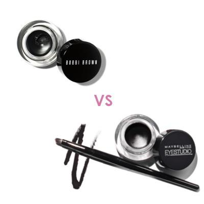 Pilih Mana: Bobbi Brown Long-Wear Gel Eyeliner VS Maybelline Eye Studio Lasting Drama Gel Eyeliner