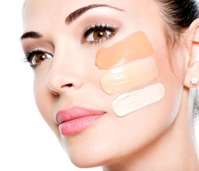 3. Gunakan kulit pada area wajah dan leher