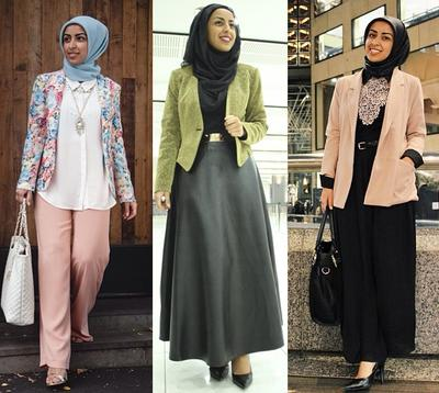 Tampil Cantik Elegan Dengan Hijab Saat Ke Kantor Fashion Beautynesia