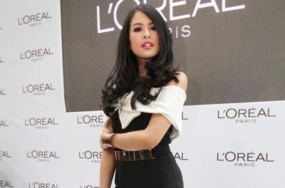 Maudy Siap Menjadi Brand Ambassador L'Oreal Paris
