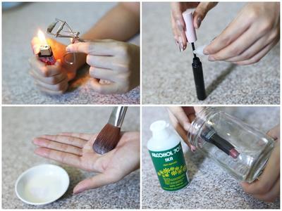 Cara Mudah Membersihkan Peralatan Makeup