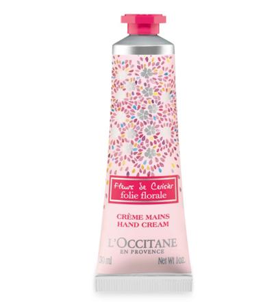 L'occitane Cherry Blossom Folie Florale Tender Hand Cream