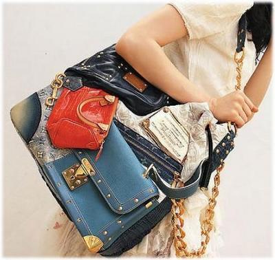 8. Louis Vuitton Patchwork Bag