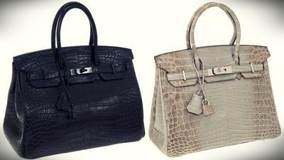 6. Hermes Matte Crocodile Birkin Bag