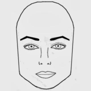 4. Wajah Kotak