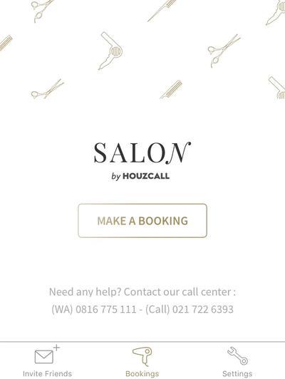 Hadirkan Penata Rambut ke Rumah Dengan Aplikasi Salon by Houzcall