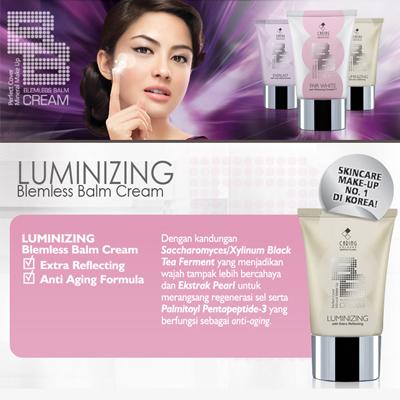 5. Caring Colours BB Cream Fair Luminizing