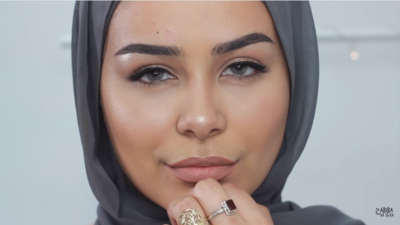 Tutorial Makeup Hijab Tanpa Foundation