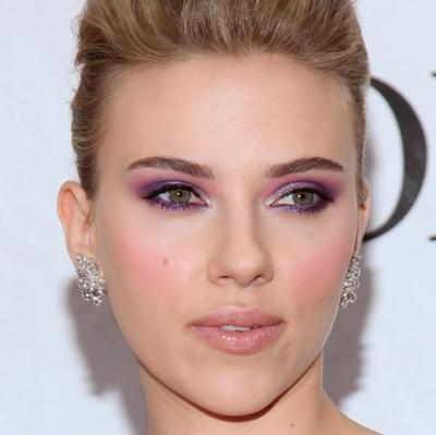 Lipstik Nude & Eyeshadow Violet