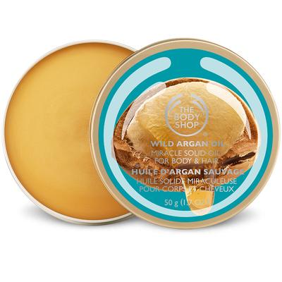 2. The Body Shop Wild Argan Oil Miracle Solid Oil