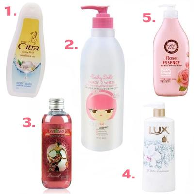 Rekomendasi Body Wash Untuk Memutihkan Kulit