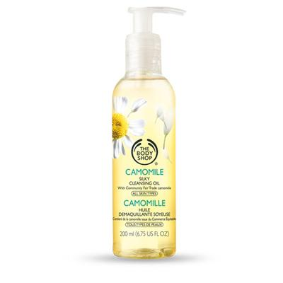 1. The Body Shop Camomile Cleansing Oil